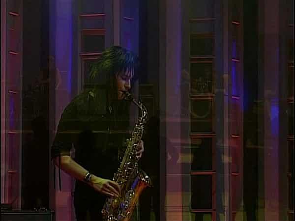Marie mit dem Saxophon