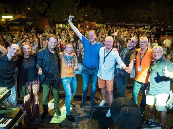 Nach dem Konzert in Magdeburg