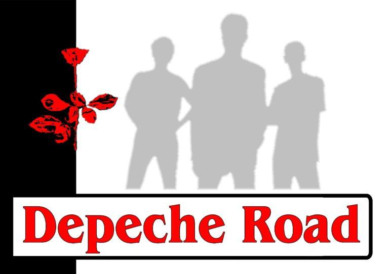 Plakat der Depeche Mode Coverband