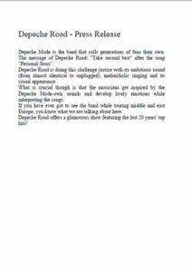 Thumb press release