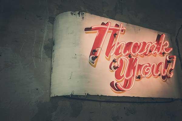 Thank You - Danke